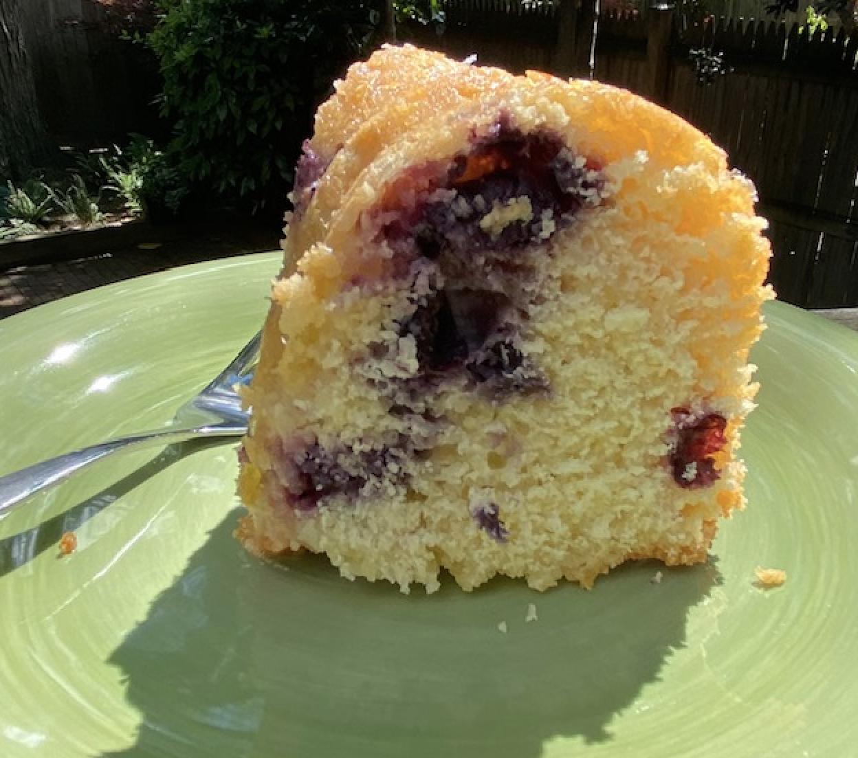 Bundt Cake Slice