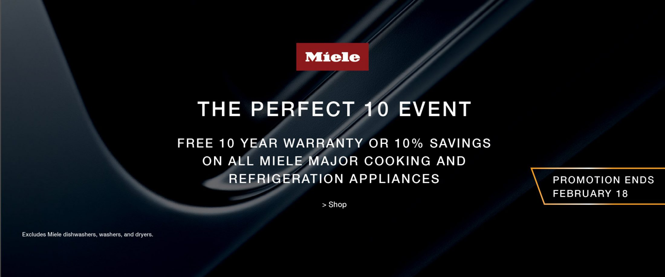 miele Perfect 10 Jan promo click for more