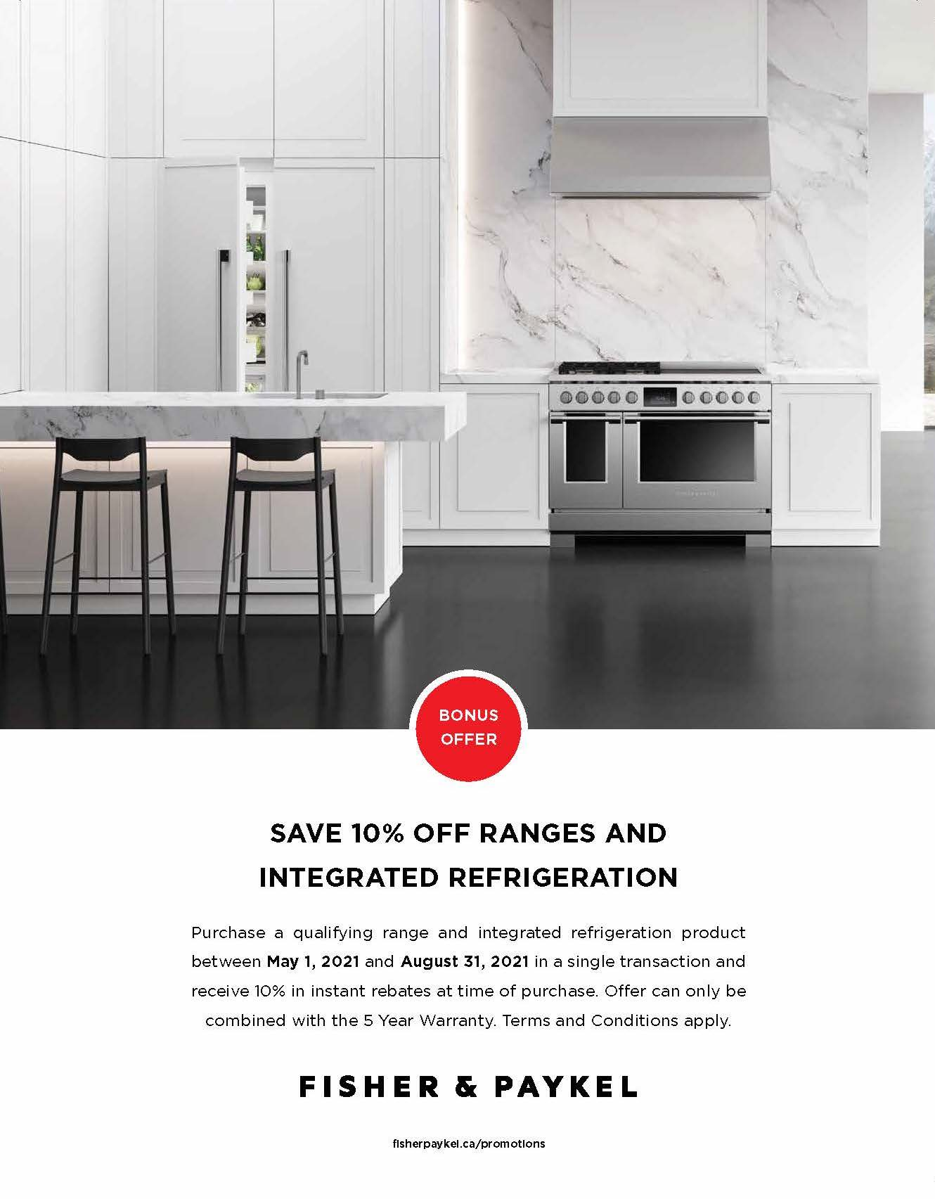 Fisher Paykel Save 10% Off Promo Page