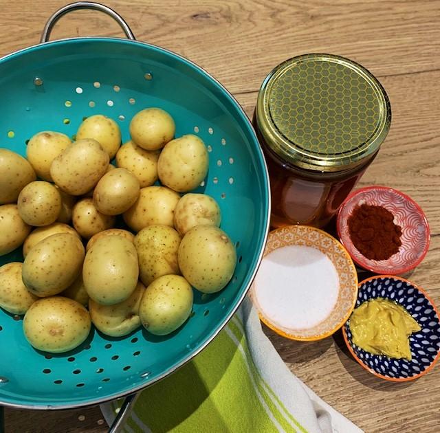 roasted potatoe ingredients