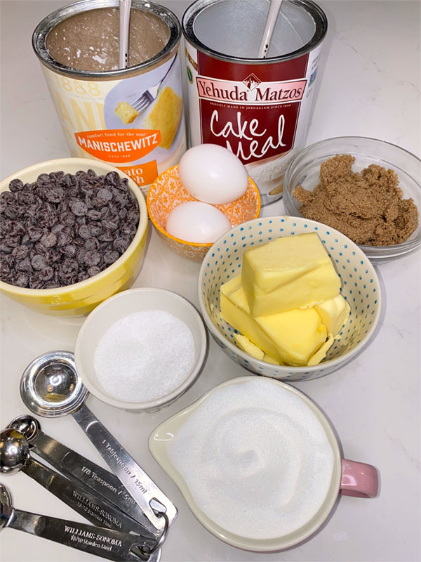 passover cookie ingredients