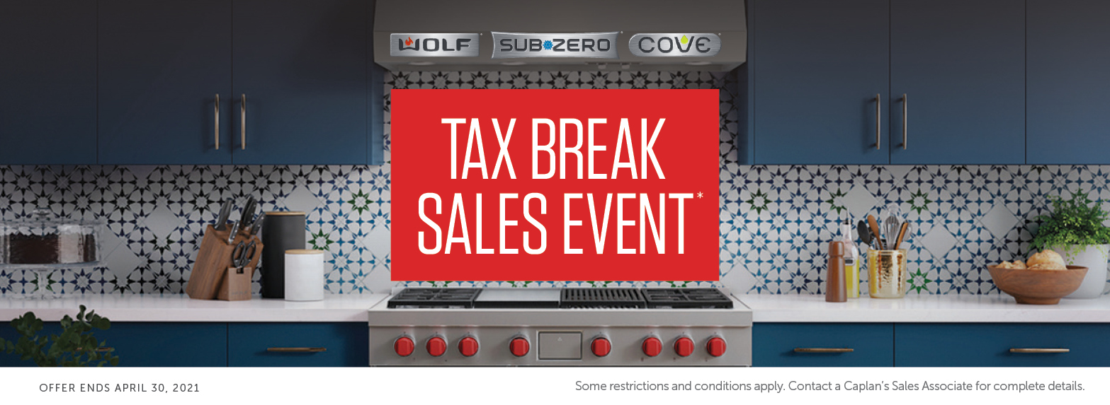 tax break sales event promo contact us for more details